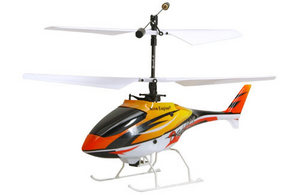Вертолет Nine Eagles Draco 2.4 GHz в кейсе (Yellow RTF Version)