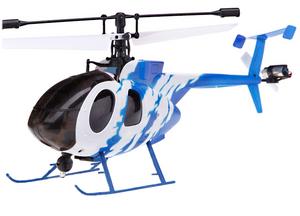 Вертолет Nine Eagles Bravo SX 2.4 GHz (Light Blue RTF Version)