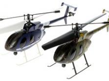 Вертолет Nine Eagles Bravo SX 2.4 GHz (Light Blue RTF Version)-фото 4