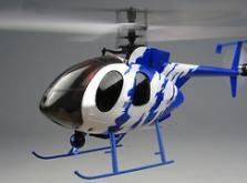 Вертолет Nine Eagles Bravo SX 2.4 GHz (Light Blue RTF Version)-фото 5