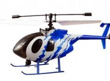Вертолет Nine Eagles Bravo SX 2.4 GHz (Light Blue RTF Version)-фото 2