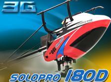 Вертолет Nine Eagles Solo PRO 180 3D 2.4 GHz (Yellow RTF Version)-фото 5