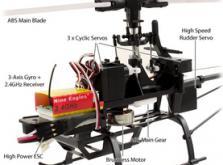 Вертолет Nine Eagles Solo PRO 180 3D 2.4 GHz (Yellow RTF Version)-фото 7