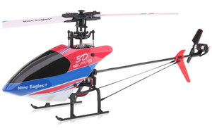 Вертолет Nine Eagles Solo PRO 100 3D 2.4 GHz (Red RTF Version)