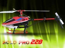 Вертолет Nine Eagles Solo PRO 228 2.4 GHz (Red RTF Version)-фото 2