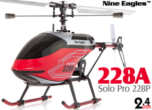Вертолет Nine Eagles Solo PRO 228P 2.4 GHz (Red RTF Version)