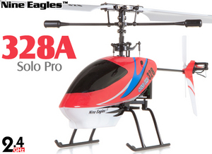 Вертолет Nine Eagles Solo PRO 328 2.4 GHz (Red RTF Version)