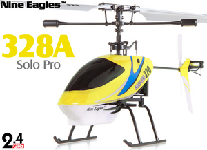 Вертолет Nine Eagles Solo PRO 328 2.4 GHz (Yellow RTF Version)