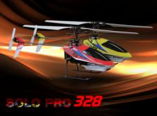 Вертолет Nine Eagles Solo PRO 328 2.4 GHz (Yellow RTF Version)-фото 4
