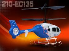 Вертолет Nine Eagles EC 135 2.4 GHz (Blue RTF Version)-фото 4