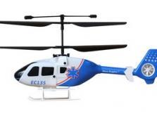 Вертолет Nine Eagles EC 135 2.4 GHz (Blue RTF Version)-фото 2