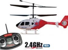 Вертолет Nine Eagles EC 135 2.4 GHz (Red RTF Version)-фото 5