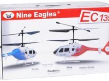 Вертолет Nine Eagles EC 135 2.4 GHz (Red RTF Version)-фото 3