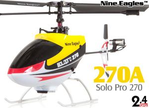 Вертолет Nine Eagles Solo PRO 270 2.4 GHz (Yellow RTF Version)