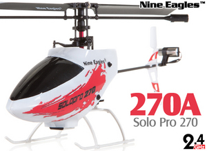 Вертолет Nine Eagles Solo PRO 270 2.4 GHz (Red RTF Version)