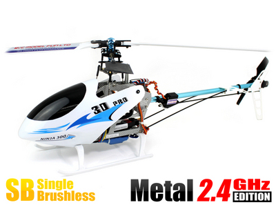 Вертолет Skyartec NINJA 300-400 3D 2.4 GHz (White RTF Version)