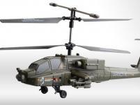 Вертолет UDIRC Apache 330 мм 3 CH 2,4 GHz с гироскопом (RTF Version)