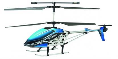 Вертолет UDIRC U16 480 мм 3 CH 2,4 GHz с гироскопом (Blue Metal RTF Version)
