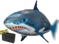 Рыба Акула на радиоуправлении  (Flying Shark), полиэтилен, пульт управления, для детей старше 8 лет