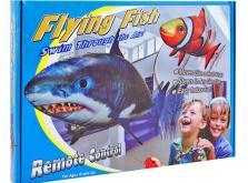 Рыба Акула на радиоуправлении  (Flying Shark), полиэтилен, пульт управления, для детей старше 8 лет-фото 2