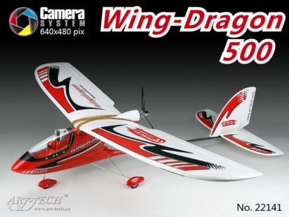 Планер Art-Tech Wing Dragon 500 с бортовой видеосистемой 2.4GHz (RTF Version)