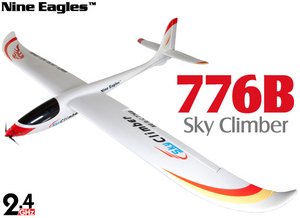 Планер Nine Eagles Sky Climber 2.4 GHz (White RTF Version)