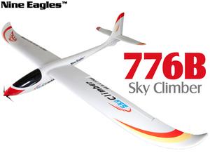 Планер Nine Eagles Sky Climber (White ARF Version)