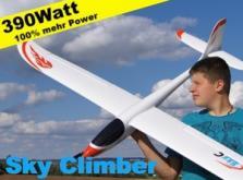 Планер Nine Eagles Sky Climber (White ARF Version)-фото 4