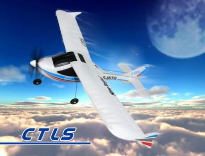Самолет Nine Eagles CTLS 2.4 GHz  (RTF Version)