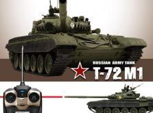 Танк VSTANK PRO Russian Army Tank T72 M1 1:24 IR (Khaki RTR Version)-фото 4