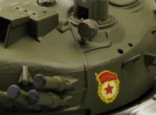 Танк VSTANK PRO Russian Army Tank T72 M1 1:24 IR (Khaki RTR Version)-фото 6