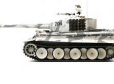 Танк VSTANK PRO German Tiger I MP 1:24 Airsoft (Winter Camouflage RTR Version)-фото 1
