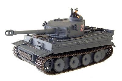 Танк VSTANK PRO German Tiger I EP 1:24 Airsoft (Grey RTR Version)