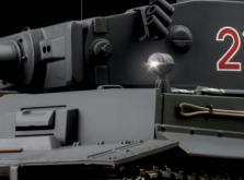 Танк VSTANK PRO German Tiger I EP 1:24 Airsoft (Grey RTR Version)-фото 4