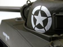 Танк VSTANK PRO US M4A3 Sherman 1:24 HT Airsoft (Khaki RTR Version)-фото 5