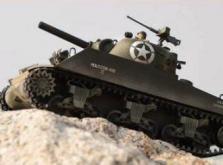 Танк VSTANK PRO US M4A3 Sherman 1:24 HT Airsoft (Khaki RTR Version)-фото 6