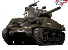 Танк VSTANK PRO US M4A3 Sherman 1:24 HT Airsoft (Khaki RTR Version)-фото 8