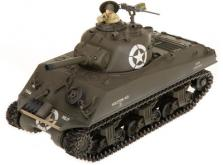 Танк VSTANK PRO US M4A3 Sherman 1:24 HT Airsoft (Khaki RTR Version)-фото 3