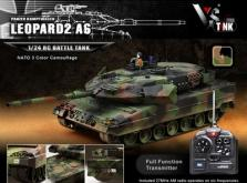 Танк VSTANK PRO German Leopard 2 A6 NATO 1:24 Airsoft (Camouflage RTR Version)-фото 4