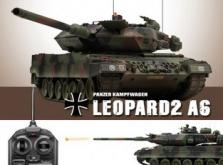 Танк VSTANK PRO German Leopard 2 A6 NATO 1:24 Airsoft (Camouflage RTR Version)-фото 5
