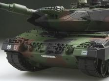 Танк VSTANK PRO German Leopard 2 A6 NATO 1:24 Airsoft (Camouflage RTR Version)-фото 6