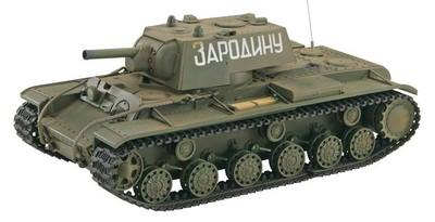 Танк VSTANK PRO Soviet Red Army KV-1B 1:24 Airsoft (Khaki RTR version)