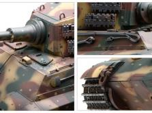Танк VSTANK PRO German King Tiger 1:24 Airsoft (Camouflage RTR Version)-фото 4