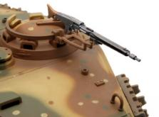 Танк VSTANK PRO German King Tiger 1:24 Airsoft (Camouflage RTR Version)-фото 5