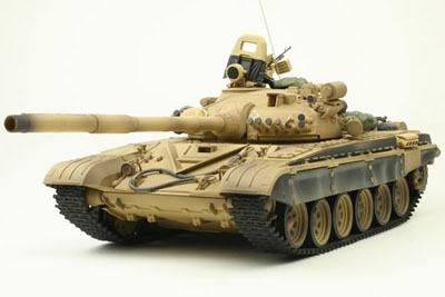 Танк VSTANK PRO Russian Army Tank T72 M1 1:24 IR (Desert RTR Version)
