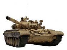 Танк VSTANK PRO Russian Army Tank T72 M1 1:24 IR (Desert RTR Version)-фото 6