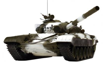 Танк VSTANK PRO Russian Army Tank T72 M1 1:24 Airsoft (Winter Camouflage RTR Version)
