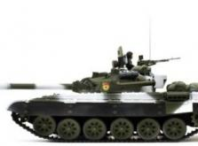 Танк VSTANK PRO Russian Army Tank T72 M1 1:24 Airsoft (Winter Camouflage RTR Version)-фото 1