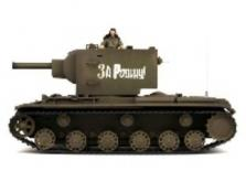 Танк VSTANK PRO Soviet Red Army KV-2 1:24 Airsoft (Green RTR version)-фото 1