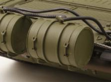 Танк VSTANK PRO Russian Army Tank T72 M1 1:24 Airsoft (Green RTR Version)-фото 1